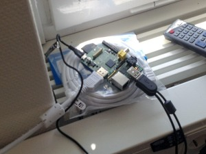 Raspberry Pi up and running
