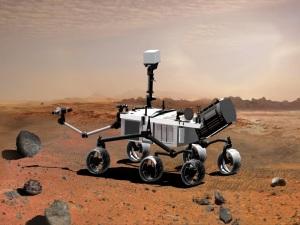 Curiosity lander.